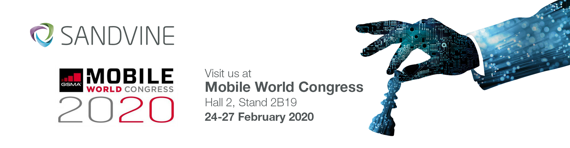 MWC 2020 Landing Page Banner
