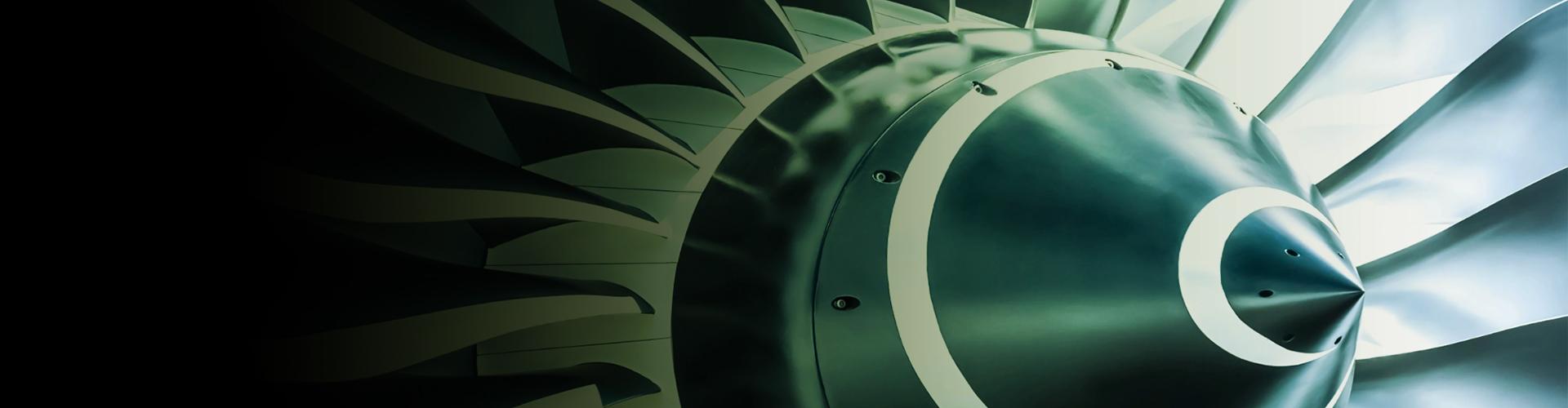 An engine turbine